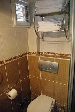 badkamer: toilet - picture of volare apart hotels, istanbul, Badkamer