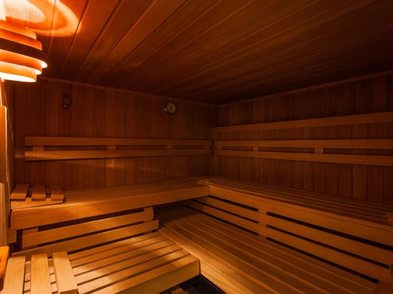 Pension Kilian: Finnische Sauna