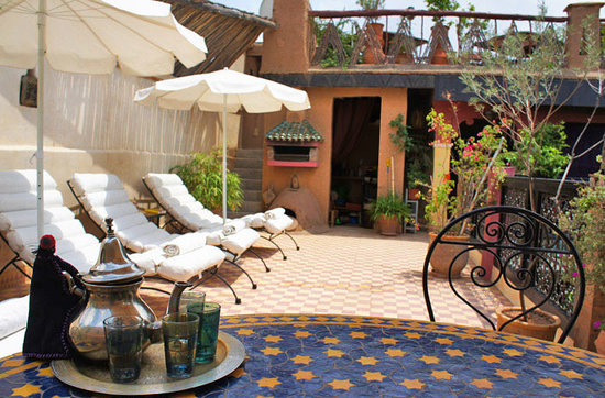 Riad Nomades: terrace