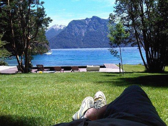 Millaqueo Luxury Villa: descansando en el parque...