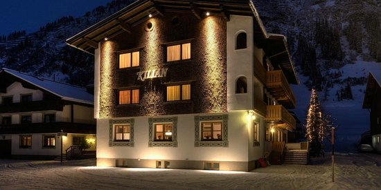 Pension Kilian : Im Winter - das Kilian in Lech