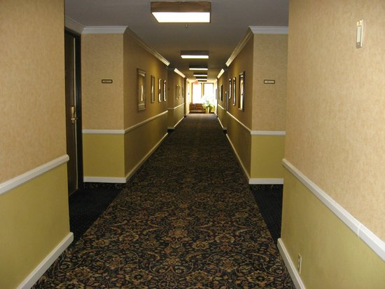 Santa Maria Inn: Hallway of our floor