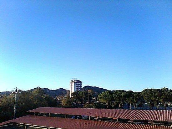 Hotel Abano Verdi Terme: Panorama dalla camera 