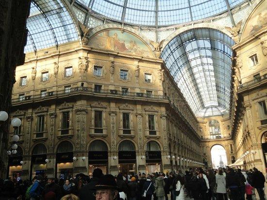 Hotel Berna : Galleria Vittorio Emmanuele