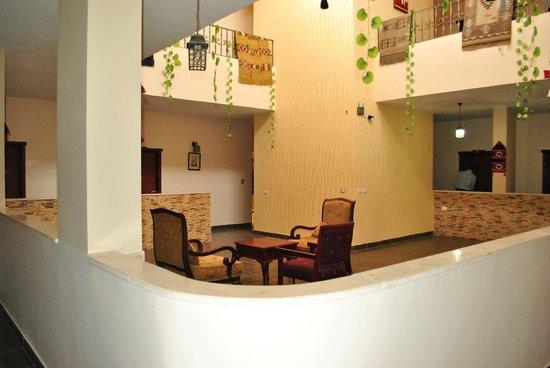 Rumman Hotel : In front of my room...