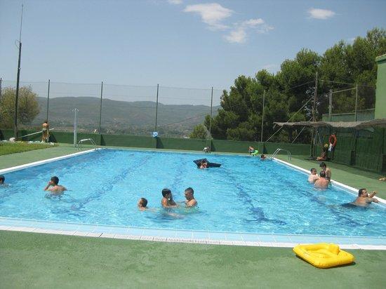 Segorbe, Spain: Piscina.