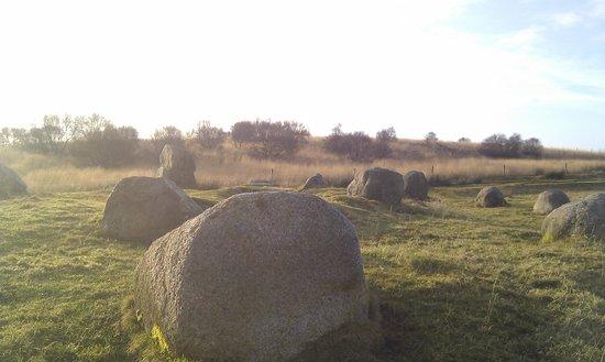 Isle of Arran, UK: the stones