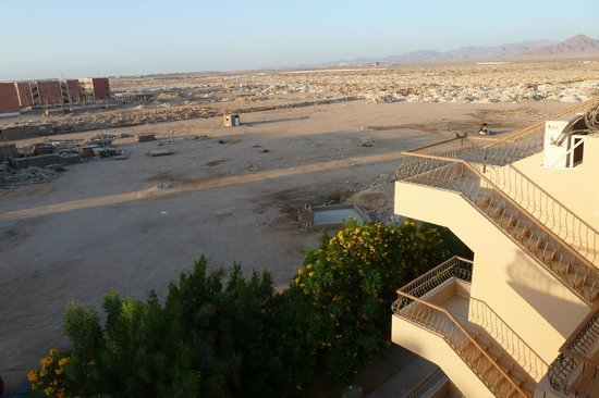 Egyptian Experience Sharm el-Sheikh: View south towards airport from roof top