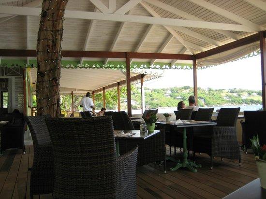 Bequia Beach Hotel Luxury Boutique Hotel & Spa: The restaurant