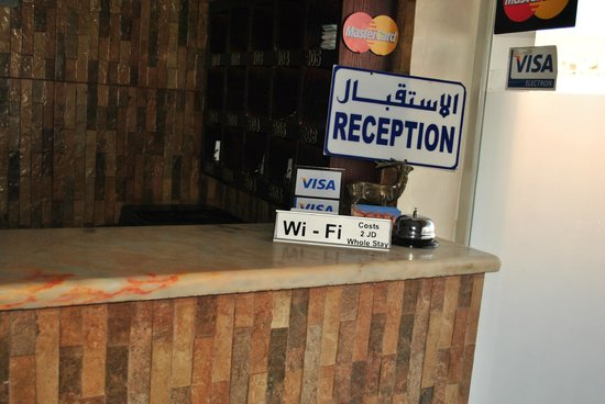 Cleopetra Hotel: The reception