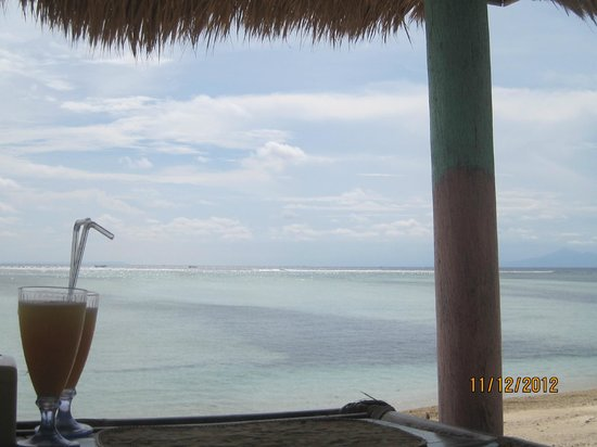 Villa Casa Mio: welcome drink