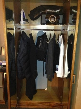 Grand Hyatt New York: closet with safe that was easy to work