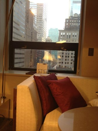 Grand Hyatt New York: window view