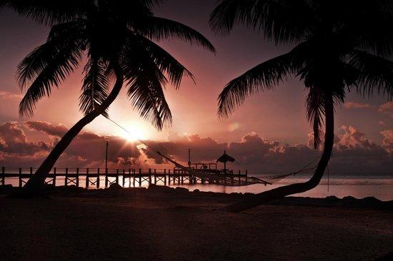Seashell Beach Resort: Blick auf den Hauspier