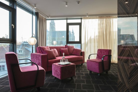 Hotel Lamée: Suite with a view
