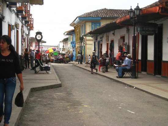 Posada Martha Tolima: The Posada is located a couple blocks away from the main tourist area.