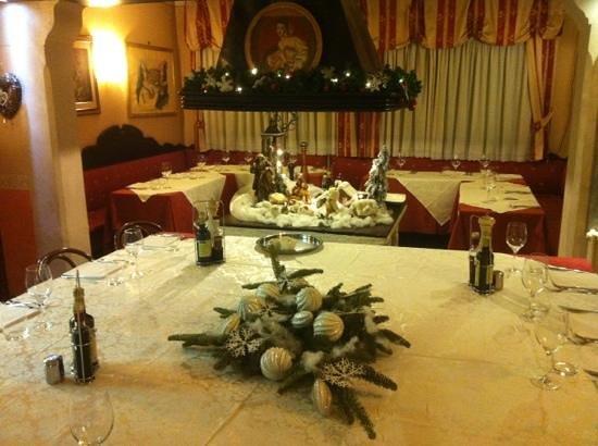 Osteria Al Borgo Antico: addobbo natalizio