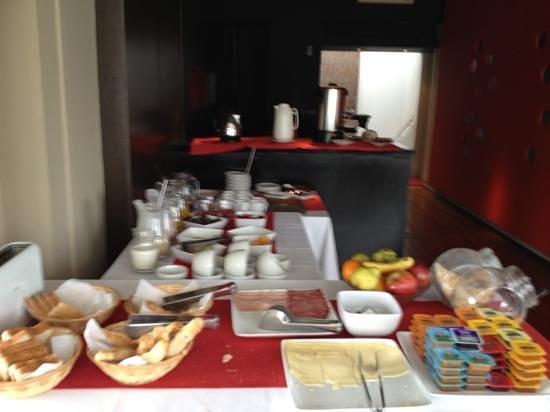 Hotel Plaza Fuerte: Hotel breakfast
