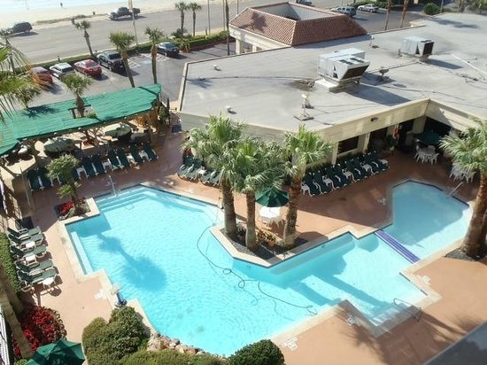 Holiday Inn Resort Galveston-On The Beach: view of pool from balcony