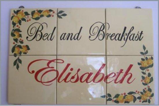 Bed and Breakfast Elisabeth : B&B Elisabeth