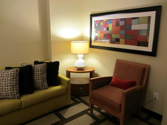 Embassy Suites by Hilton Houston Downtown : Sitting area