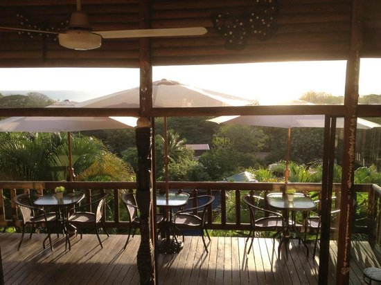 Horizon Ocean View Hotel and Yoga Center: view at breakfast