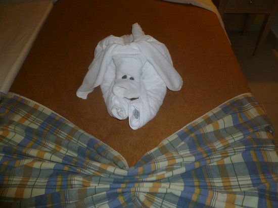 IBEROSTAR Lanzarote Park - TEMPORARILY CLOSED: Nice touch from the maid