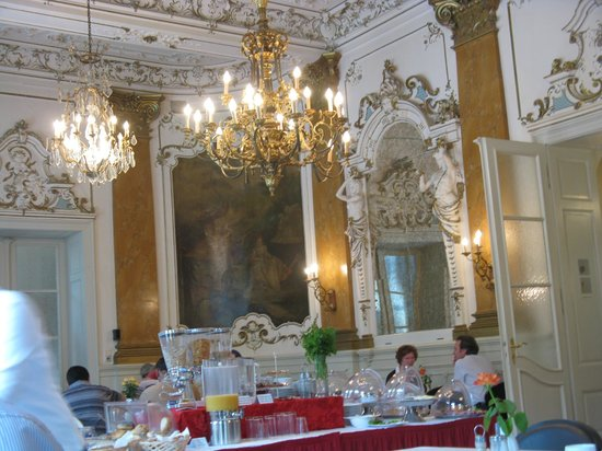 Eurostars Park Hotel Maximilian: Breakfast room