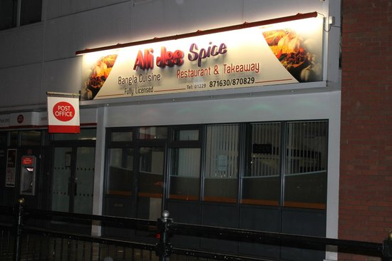 Barrow-in-Furness, UK: ali jee spice