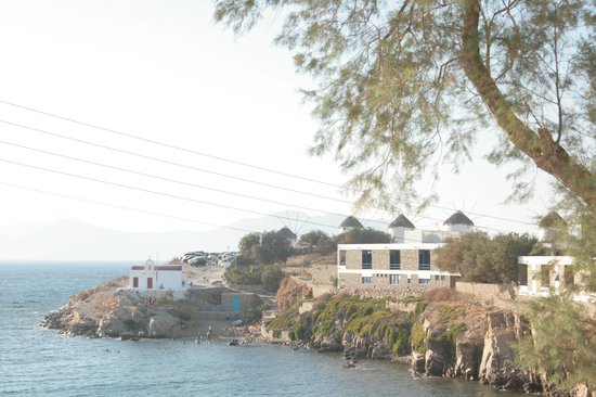 Poseidon Hotel - Suites: Foto, realizada desde la terraza de la habitación