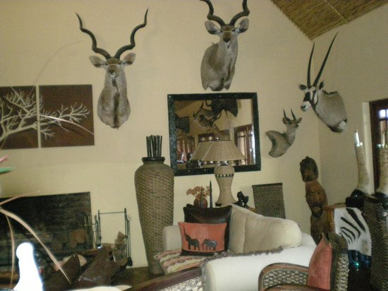 Valley Bushveld Country Lodge & Safari Tours: Super ontvangstkamer