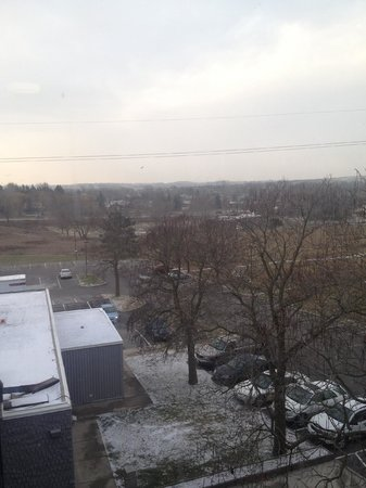 Holiday Inn Guelph Hotel & Conference Centre : View from 5th Floor