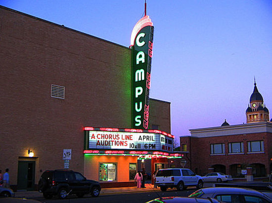 Denton's Campus Theatre