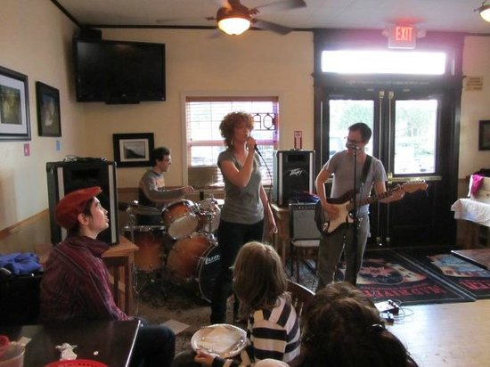 "Mad River Brewery Tap Room: Local band ""The Big Forgive"" plays the Tap Room"