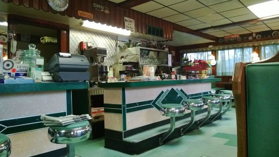 Atco Diner :                   Nice enough inside