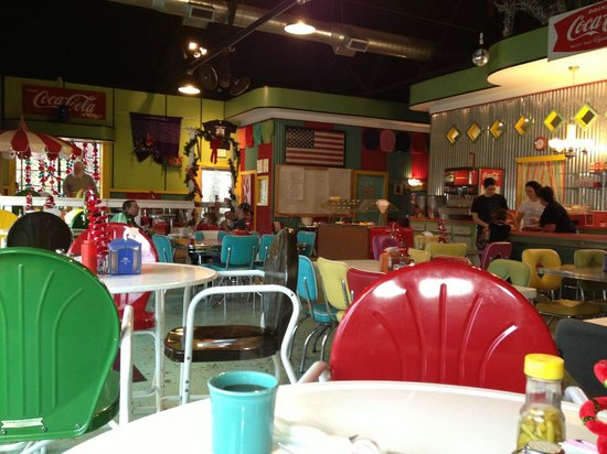 Beje's Diner: Home Fries Interior