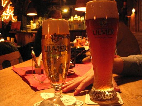 Gockelstube: birre..