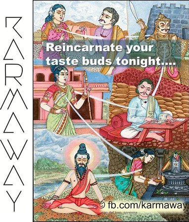 Reincarnate your taste buds tonight at Karmaway