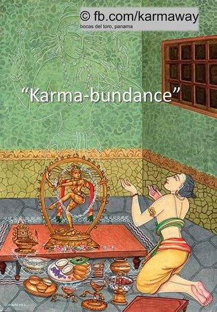Karmaway: Karma-bundance