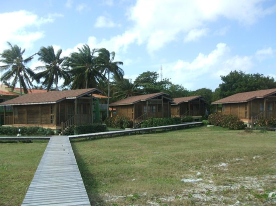 Wooden Villasbungalows Picture Of Gran Caribe Club Cayo Guillermo