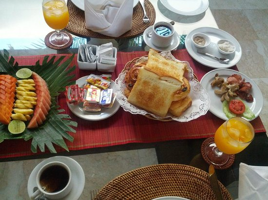 RC Villas & Spa: good complimentary breakfast