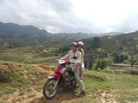 Custom Vietnam Travel Day Tours: Sapa Valley on motor scooters!