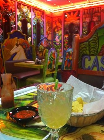 Casa Mexicana: Colorful Decor - Great Margharitas