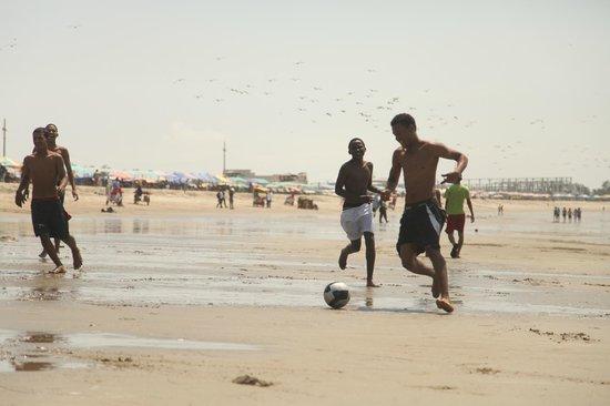 Hosteria Mediterra: futbol arena