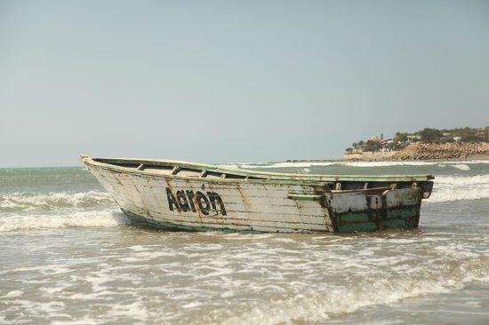 Hosteria Mediterra: fishing boat