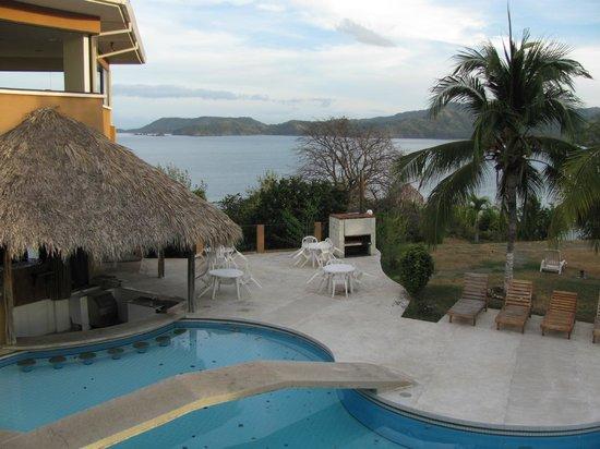 Paradise Flamingo Beach: View from balcony