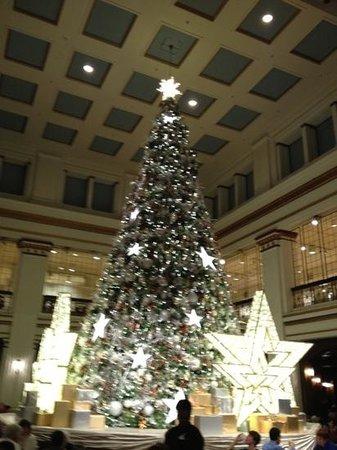 Walnut Room Christmas Tree - Picture of Walnut Room, Chicago ...