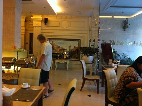 Silverland Central Hotel and Spa: breakfast area