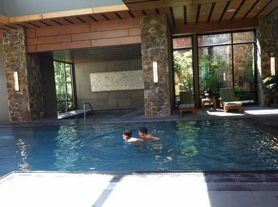 Allison Inn & Spa: The indoor/Outdoor Pool