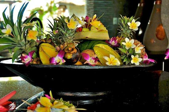 The Zala Villa Bali: Fruits 